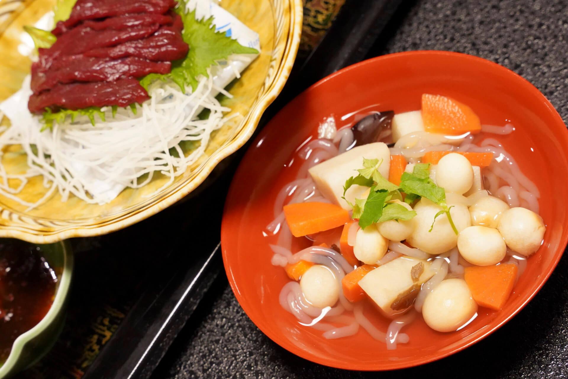 会津地方の祝いの郷土料理「こづゆ」
