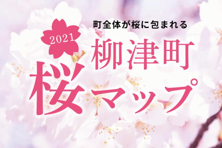 柳津町の桜マップ