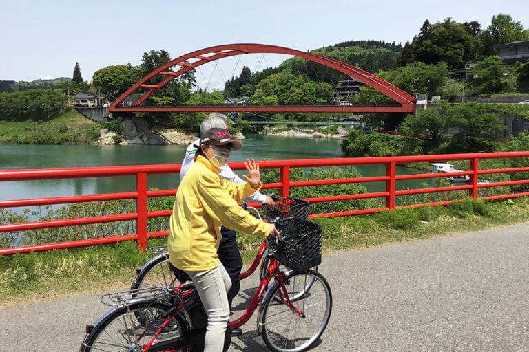 新緑の季節にサイクリングはいかがですか?
